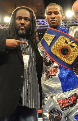 UBO USA Commissioner Macke Roberts and UBO International Champion Rances Barthelemy