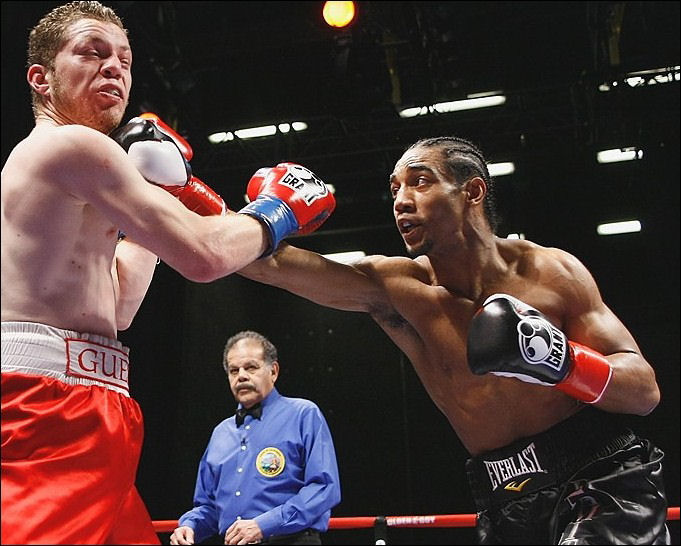 "UBO Title-Challenger Karl ""Dynamite"" Dargan in Action"